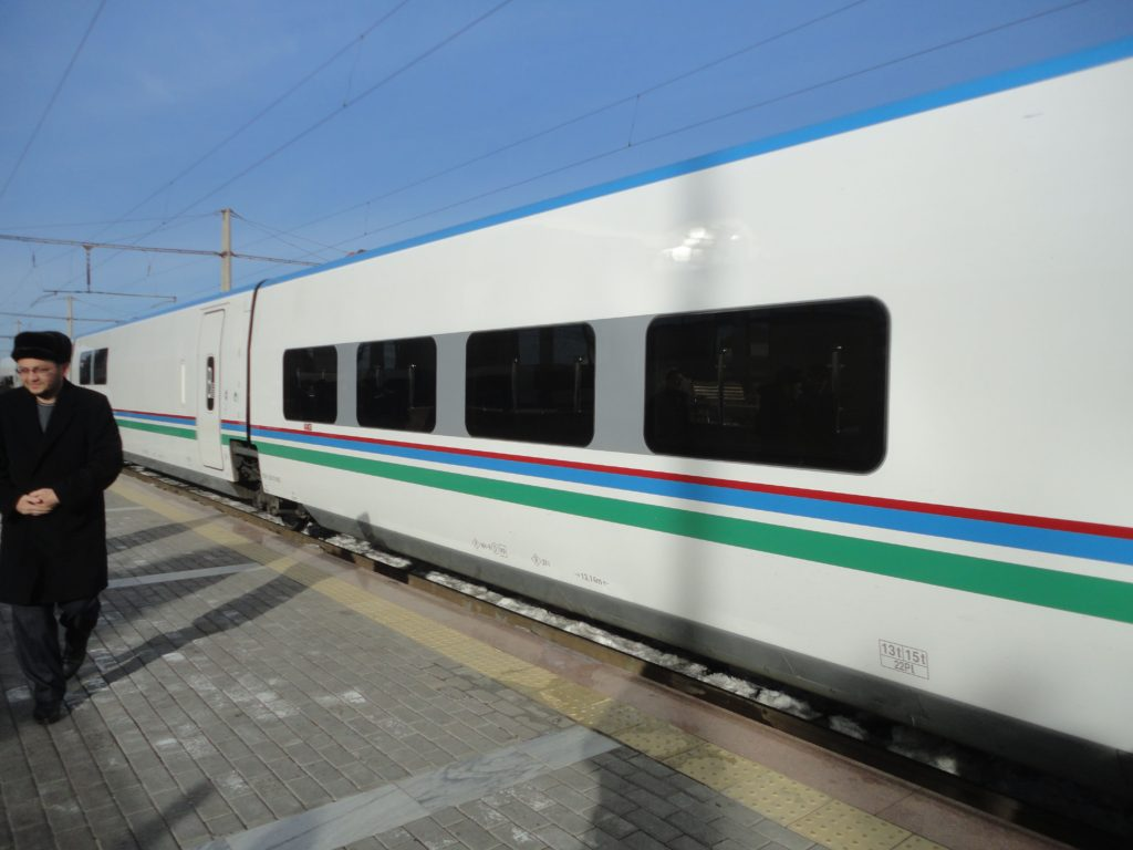 ウズベキスタン高速鉄道