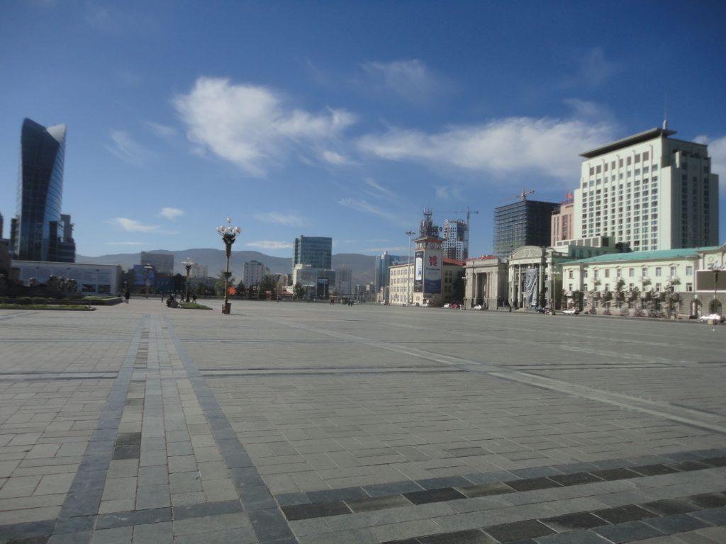 チンギス・ハーン広場