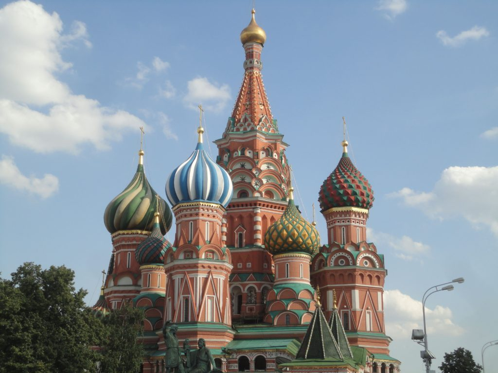 ポクロフスキー聖堂 聖ワシリイ大聖堂