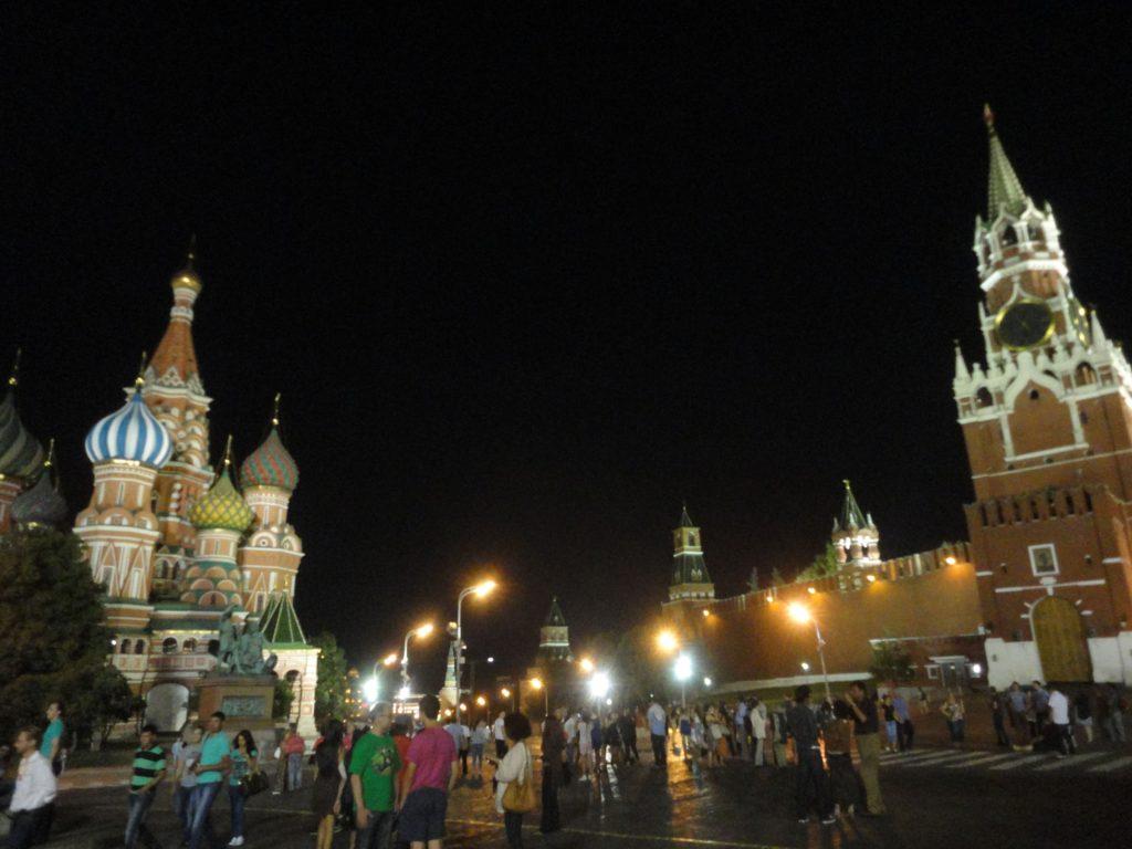 赤の広場 夜
