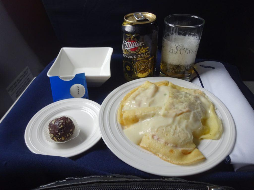 コパ航空 機内食