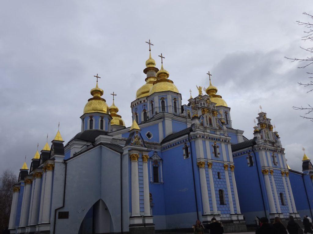 聖ミハイル黄金ドーム修道院