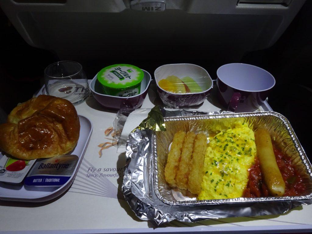 タイ航空機内食