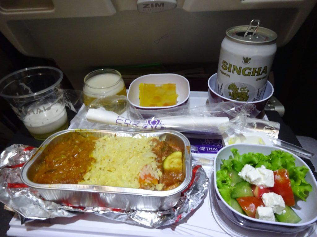 タイ航空機会食